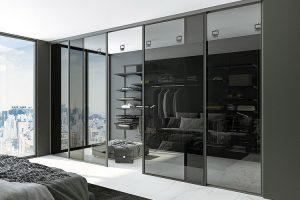 Wardrobe shutters